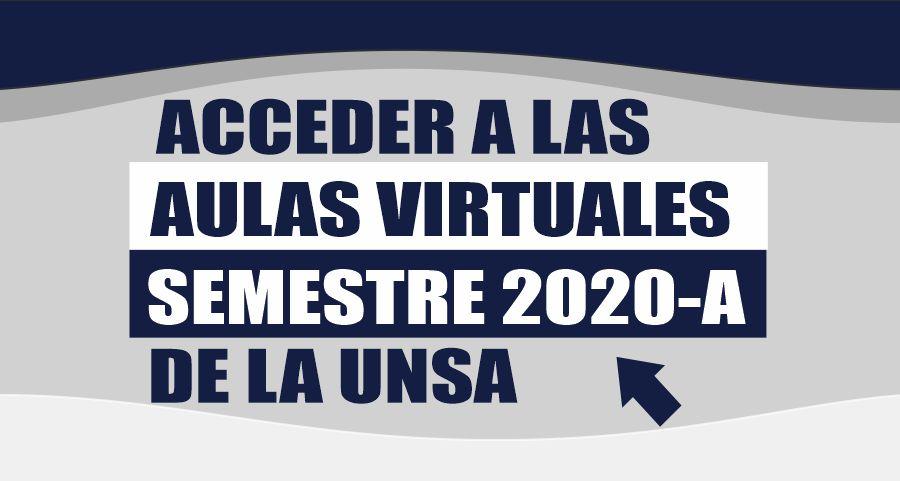 Acceder al semestre 2020A