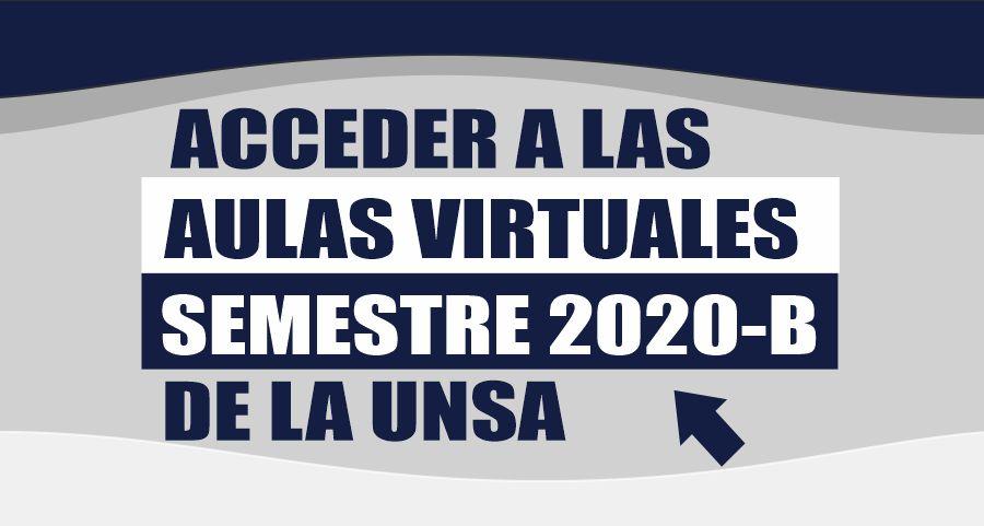 Acceder al semestre 2020B